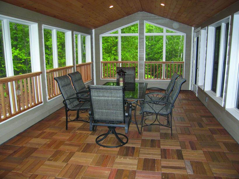 Deck Wooden Flooring 3