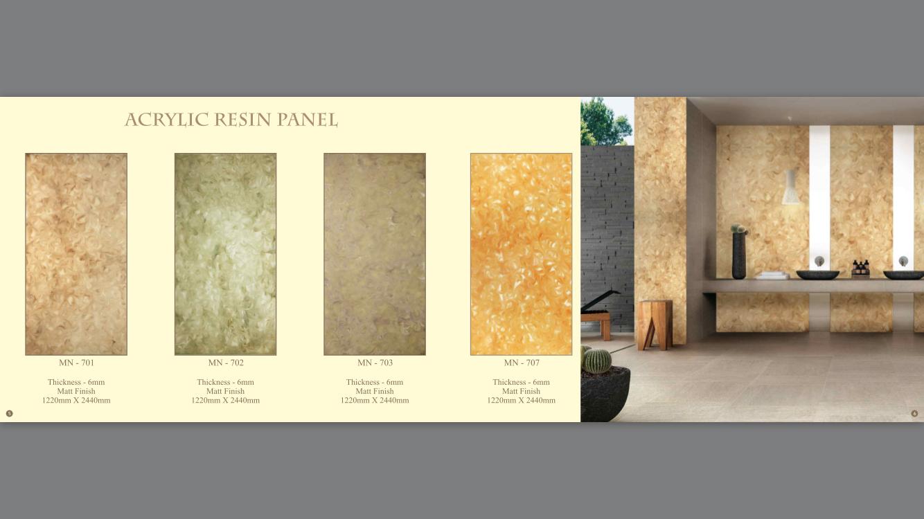 Acrylic Resin Panel-MN-701,702,703,707