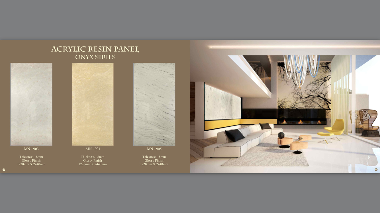 Acrylic Resin Panel-MN-903,904,905