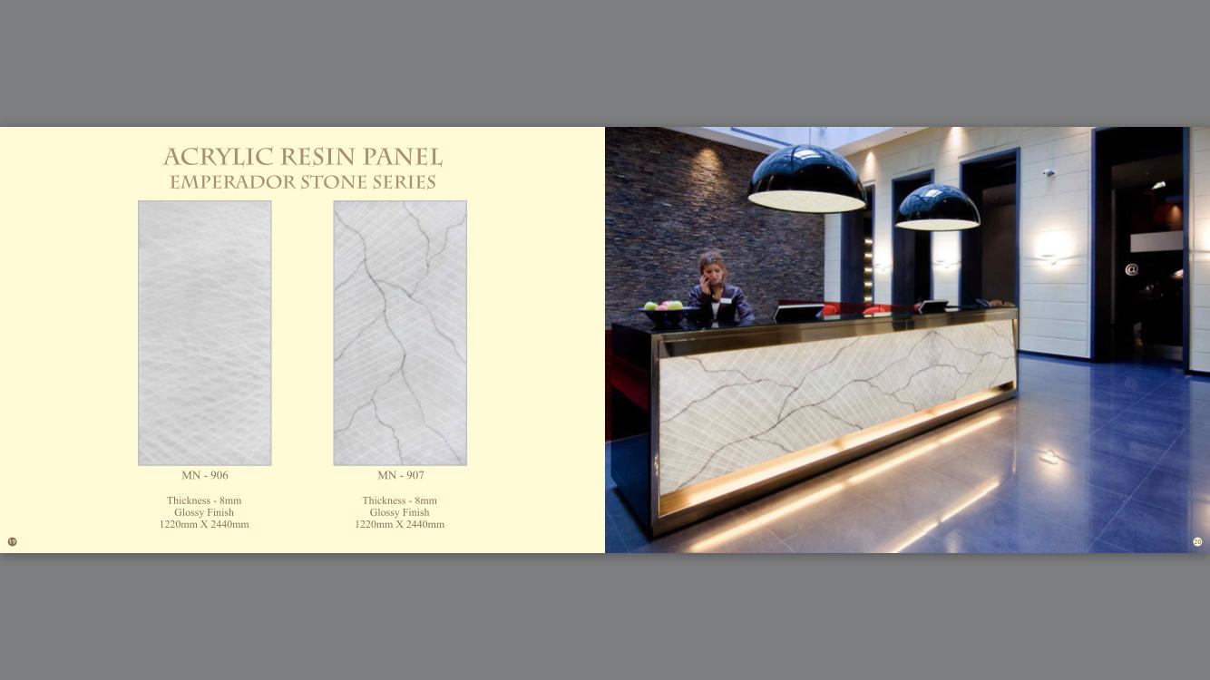 Acrylic Resin Panel-MN-906,907